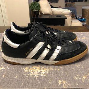 Adidas Black & White Samba OG Sneakers